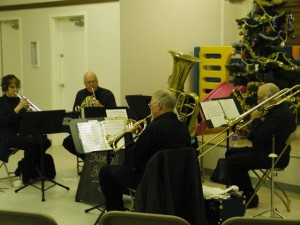 Beaverhill Brass performs at the Winter Solstice Coffeehouse
